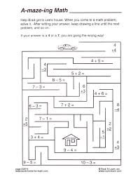 Math Maze Worksheet Counting By Twos Number Maze Worksheet Math ...