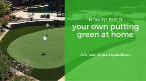 build your own putting green. Exellent Own To Build Your Own Putting Green Artificial Grass Liquidators