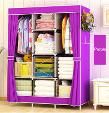 Cheap Simple Modern Folding Fabric Portable Bedroom Wardrobe Designs