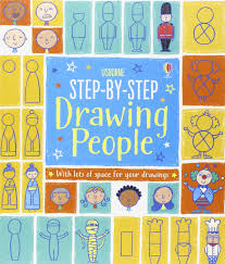 step by step drawing people fiona watt 9781409581185 amazon books