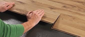 how to install to lock laminate flooring