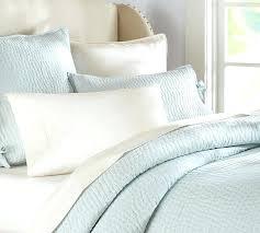 porcelain blue duvet covers pick stitch quilt king cal king porcelain blue duvet covers pottery barn