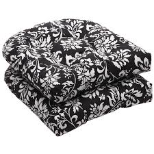 best wicker chair cushions for your home furniture pillow perfect outdoor black white fl