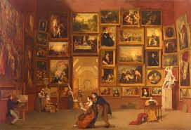 the best of the louvre on a single canvas