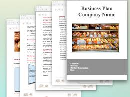 business plan template sample bakery business plan template sample pages black box business plans
