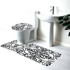 black round bath rug black and white bathroom rug large size of home and white bathroom black round bath rug