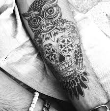 What Does A Dream Catcher Tattoo Mean Dreamcatcher and owl Big Tattoo Planet Community Forum 36