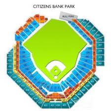 Disclosed Citizens Bank Park Stadium Seating Chart The