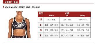 Venum Shorts Size Chart Venum Power 2 0 Sports Bra Khaki Black