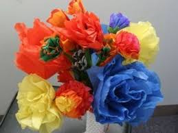 Easy Paper Flower Day Of The Dead Crafts Easy Paper Flowers