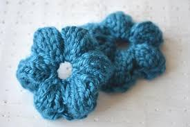 Knitted Flower Pattern Extraordinary Simple Knit Flower UPDATED Craftsy
