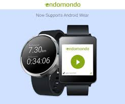 pretty sure of your acquaintance with endomondo considering it has been a por fitness app even before the arrival of smarches and android wear