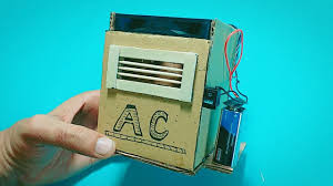 how to make homemade air conditioner diy ac with cardboard air cooler