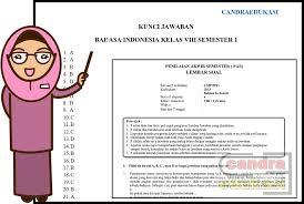 Buku bahasa indonesia kelas vii 7 kurikulum 2013 revisi 2017 pdf. Soal Uas Bahasa Indonesia Kelas 8 Semester 1 Dan Kunci Jawaban Teori Dan Soal