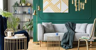 tips to incorporate metallic home decor