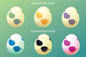 What Can You Get From Eggs In Pokemon Go Chart Pokemon Go Generation 2 Egg Chart 2km 5km 10km Eggs