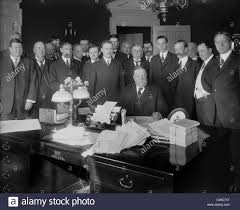 President William H Taft in the Oval Office signing the Arizona