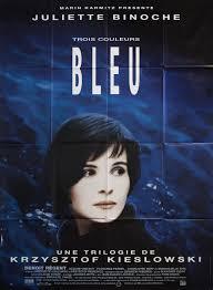 Kunst BLUE 1993 French Krzysztof Kieślowski THREE COLOURS Cinema Poster Art  Print Antiquitäten & Kunst