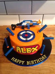 Aesthetic Ideas Nerf Gun Cake And Wonderful Best 25 Gun Cake Ideas