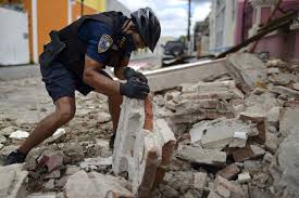 It measured a magnitude of 7.8. Damage Reported As 5 4 Magnitude Quake Strikes Puerto Rico