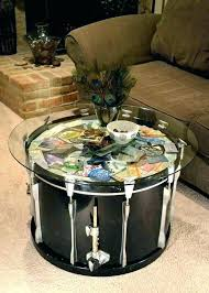 gold drum coffee table round metal drum coffee table drum coffee table drum coffee table silver