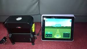 Skytrak Launch Monitor Simulator