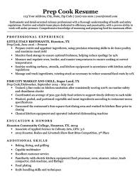 Cook Resume Template Custom Prep Cook Resume Sample Download Fresh Prep Cook Resume Examples