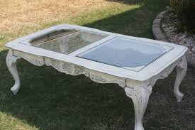 astonishing white shabby chic coffee table designs for living room excellent outdoor coffee