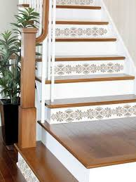 Stair Tread Painting Ideas Best 25 Painted Wood Stairs Ideas On Pinterest Painting  Wooden