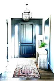 in s rug for inside front door what size