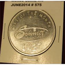 575 Schmitt Furniture of New Albany Gift of the Month token