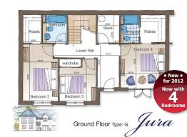 jura new home floor plans 4 bedroom