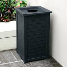 outdoor trash can. Decorating Best Photo Decorative Outdoor Trash Cans With From Garbage Cans, Source: Can