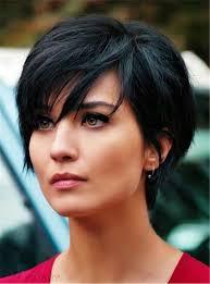 الطبقات الطبيعية عابث أسود قصير فوضوي الشعر الاصطناعية مع