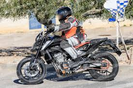 2018 ktm adventure bikes. fine 2018 the bike caught by our spy snapper outside a ktm factory was ridden in  what we believe are suspension tests comparison test with current 690 duke  intended 2018 ktm adventure bikes