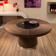 Round Table Special Truly Stunning Avant Guard Design Studios 850t Round Walnut Dining