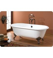 cast iron clawfoot bathtub cheviot regal cast iron bathtub with continuous rolled rim cast iron clawfoot
