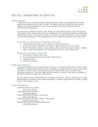 Resume For Lab Technician Impressive Dental Lab Technician Resume Template The Amazing Format Web R