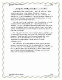 cover letter comparing and contrasting essay example comparing and  cover letter featured documents outline for compare contrast essay resume featured xcomparing and contrasting essay example