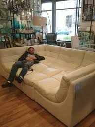 Man Cave Sofa Men Cave  Giant Couch For Lounging, Bromantic Sleepovers,  Etc.