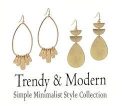 trendy morden jewelry collection