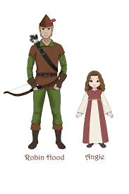 robin hood and angie from saladin the wonder horse