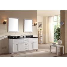 double sink vanity with granite countertop. ace 73 inch transitional double sink bathroom vanity black granite top with countertop