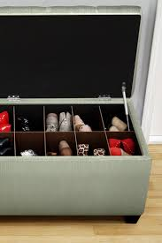 Shoe Storage Ottoman 96 Best Shoe Storage Ottoman Bench Images On Pinterest