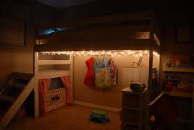 diy kids loft bed. Lighted DIY Loft Bed Diy Kids Loft Bed