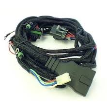 western fisher snow plow 3 port light wiring harness 28986 new fisher western snow plow 3 pin control harness ultra minute mount 26345 412404