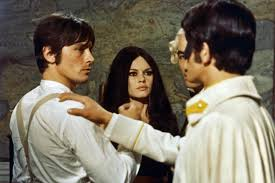 Image result for images of alain delon in the movie spirits of the dead