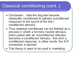 psychology essay on classical conditioning
