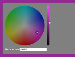 Color Wheel Style Hsv Hex Color Picker Plugin With Jquery