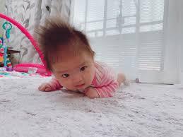 Riobaby0215 Instagram Post Carousel 髪の毛 量が多い赤ちゃんは
